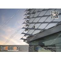 Wholesale Aluminium Expanded Metal For Building Facade from china suppliers