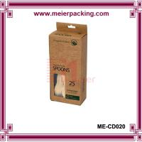 Wholesale Spoon box, Custom kraft paper spoon box ME-CD020 from china suppliers