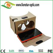 China google cardboard vr virtual reality glasses 3d vr headset with custom brand on sale