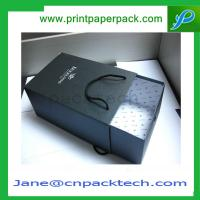 Custom Printed Colorful Rigid Cardboard Boxes Gift Boxes Drawer Type Boxes Paper