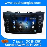 Wholesale Ouchuangbo gps Radio stereo DVD for Suzuki Swift 2011-2012 iPod USB swc BT India 2015 map from china suppliers