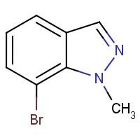 Wholesale 7-Bromo-1-methylindazole;1000576-59-9;C8H7BrN2;95%;2933998090;211.06 from china suppliers