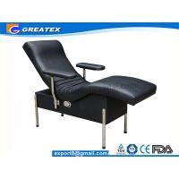 Wholesale Single Sofa Hospital Chair With Steel Stand Legs Blood Drawing Chair For Backrest from china suppliers