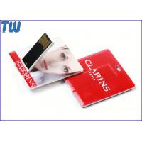 Noble Slim Square Card Best USB Flash Drive High Quality Printing for sale