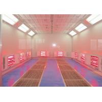 Buy cheap Car Paint Equipment Infrared Spray Booth Centrifugal Fan Heating Separate from wholesalers