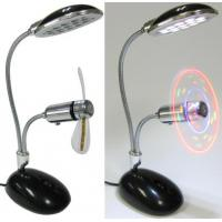 Wholesale USB Desk Lamp With Colorful Usb Powered Fans ULF-308-02 from china suppliers
