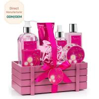 Princess Aromatic Body Care Bath Gift Set / Shower Gift Sets For Women for sale