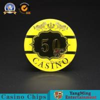 Wholesale :Macao Casino Casino Club Competition Acrylic Hot Stamping Anti-counterfeit Chips Manufacturer Custom Chip Warehouse Spo from china suppliers