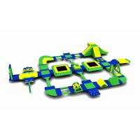 China Giant Inflatable Aqua Park , Inflatable Water Games Equipment For 95 People With EN15649 Certificate on sale
