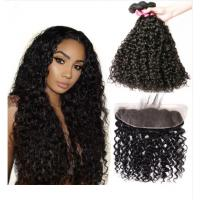 China Water Wave Malaysian Hair Extensions / Virgin Human Hair Bundles For Ladys on sale