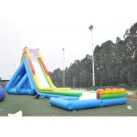 Wholesale Durable Giant Inflatable Slide , Long Giant Inflatable Water Slide For Adult from china suppliers