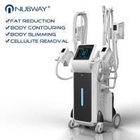 Buy cheap 2018 newest design effective result professional 4 head fat freezing slimming machine with ce from wholesalers