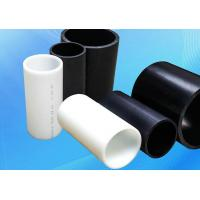 China Heat Resistant PE Plastic Pipe / Insulated Electrical Conduit Pipe on sale