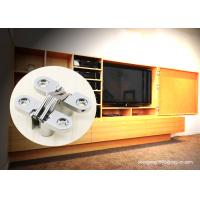 TV Cabinet Small Soss 180 Degree Cabinet Hinge , Invisible Hinges Cross Hidden Hinge for sale