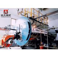 China High Efficiency Fire Tube Oil Fired Hot Water Boiler Three Way Automatic Running for sale