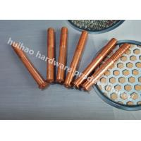 Wholesale Capacitor Discharge Annular Grooved Weld Pins , Stud Welder Pins With Threaded from china suppliers