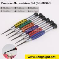 Wholesale Precision Titanium Steel Screwdriver Set BK-6636-B for cell Phone electronic products,Watches repair from china suppliers