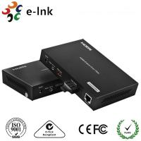 China 1 Channel HDMI Over Fiber Optic Extender 8 Watt With 1 Channel 10 / 100M Ethernet on sale