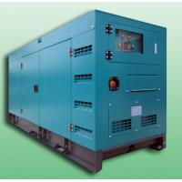 Wholesale Open / Silent 100KVA Diesel powered portable generator set , diesel backup generators from china suppliers