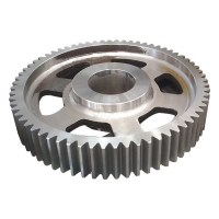 China Casting Straight 42CrMo 50mm Steel Worm Gear Spur Helical Gear on sale