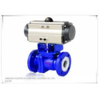 Wholesale Floating 2 Inch Motorized Ball Valve , Two Piece Type Double Acting Cylinder Control Valve from china suppliers