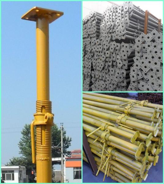 Adjustable Steel Post Shores : Scaffolding parts steel props adjustable scaffold