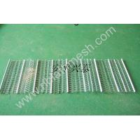 Quality Stainless Steel Rib Lath Mesh , Hot Galvanized Expanded Metal Mesh for sale
