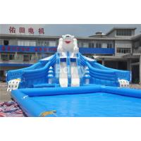 Wholesale Outdoor Bear Giant Inflatable Water Park With EN14960 0.55mm PVC Tarpaulin Material from china suppliers