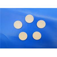 Quality High Temperature Insulation 99% Alumina Ceramic Wafer / Substrate/ Round Sheet / Disk for sale