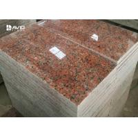 G562 Maple Red Granite Stone Tiles For Flooring And Wall Cladding for sale