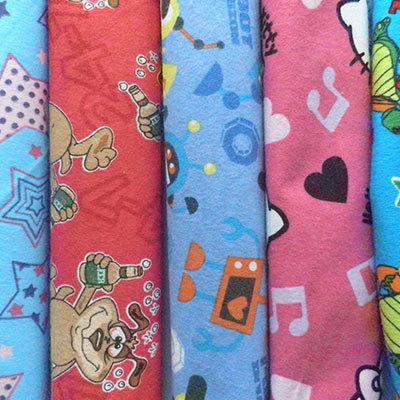 100% Cotton Flannel Fabric image