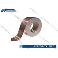 China Single Sided Conductive Copper Foil Tape Adhesive Waterproof for outdoor on sale