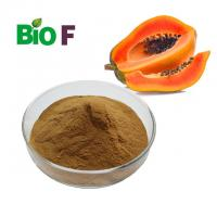 China Concentrate Nature Papaya Extract Powder Alleviated Inflammation ISO Certificate on sale