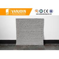 Wholesale Flame Retardant Handmade Clay Wall Tile For Interior Wall Decorative , ISO Approved from china suppliers