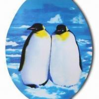 Wholesale 3-D Sticker, Penguin Design, Sticker on the Seat , Made of Recycled PP with UV Offset Printing from china suppliers