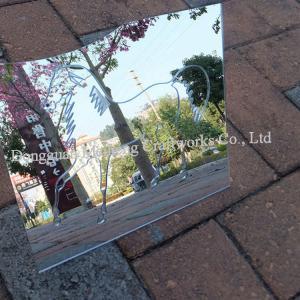 Buy cheap craft mirror pvc / pvc sheet plastic plexiglass mirror sheets from wholesalers