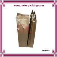 Quality Thickness cardboard wine bags/Shopping paper bag/Grey paper gift bag ME-BG033 for sale