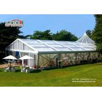 Wholesale Romance Thematic Aluminum Wedding Party Tent / Cream White Luxury Wedding Tents from china suppliers
