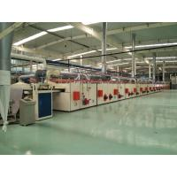 Wholesale PVC Carpet Backing Machine / Tile Production Line CNC Cutting For Sizes Desired from china suppliers