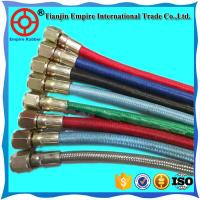 Wholesale High temperature resistant steam rubber fiber braided pipe hose for steam deliver with factory price from china suppliers