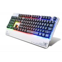 Wholesale Wired USB 3 color LED Pro Illuminated Gaming Keyboard For Gamer 104 Keys from china suppliers