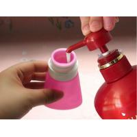 Wholesale 2017 new bright light colour leak proof squeezable, BPA free, Food Grade Protable Silicone Travel Bottle from china suppliers