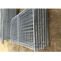 Wholesale 8ft -16ft Galvanized Metal Temporary Farm Fencing For Livestock Protection from china suppliers