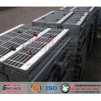 Quality HT4 Steel Grating Stair Tread for sale