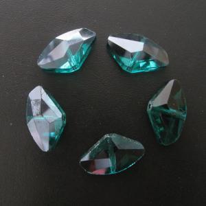 China Chinese cut shell shape crystal beads wholesale on sale