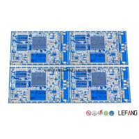 Wholesale Blue Solder Automotive FR4 PCB Board For Car GPS Navigation Display Main Board from china suppliers