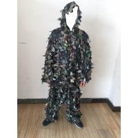Quality 3D Leafy Leaves Clothing Jungle Woodland Hunting Camo Ghillie Suit for sale