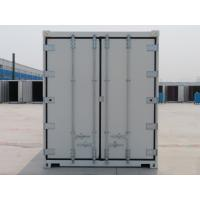 China 40'RH Refrigerated Iso Containers White General Purposes Corner Casting for sale