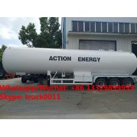 High quality factory sale best price CLW brand 50m3 bulk propane gas tank semitrailer for sale, lpg gas trailer for sale for sale