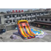 Wholesale ALI Commercial Inflatable Slide , double lane event inflatable dry slide for kids party from china suppliers
